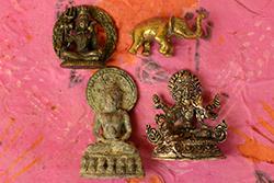 Talismane und Amulette - Tibet