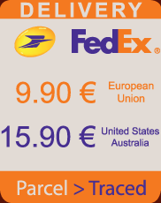 Express Delivery Fedex or LaPoste