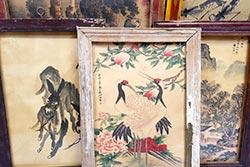 Alter Holzrahmen - chinesische Malerei