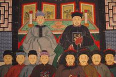 Peinture Chinoise sur toile: Ancêtres chinois et peinture asiatiques