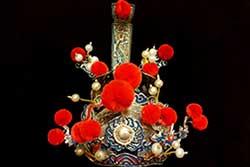 Antiguos sombreros chinos