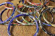 Chinese Cloisonné Bracelets