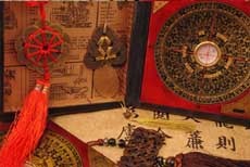 Chinese feng shui art, decoration items