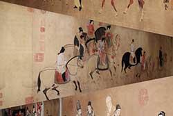 Escenas Chinas muy largas Pinturas (longitud de más de 4 m)