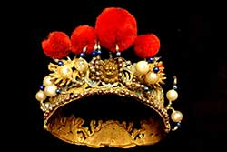 Coronas del antiguo teatro chino