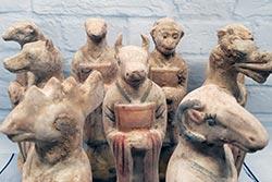Terrakotta-Statuen - Chinesische Astrologie - Terrakotta