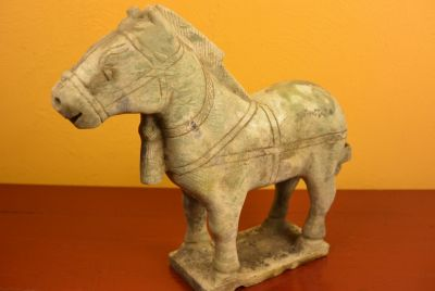 Statue en Jade Cheval Chinois 6