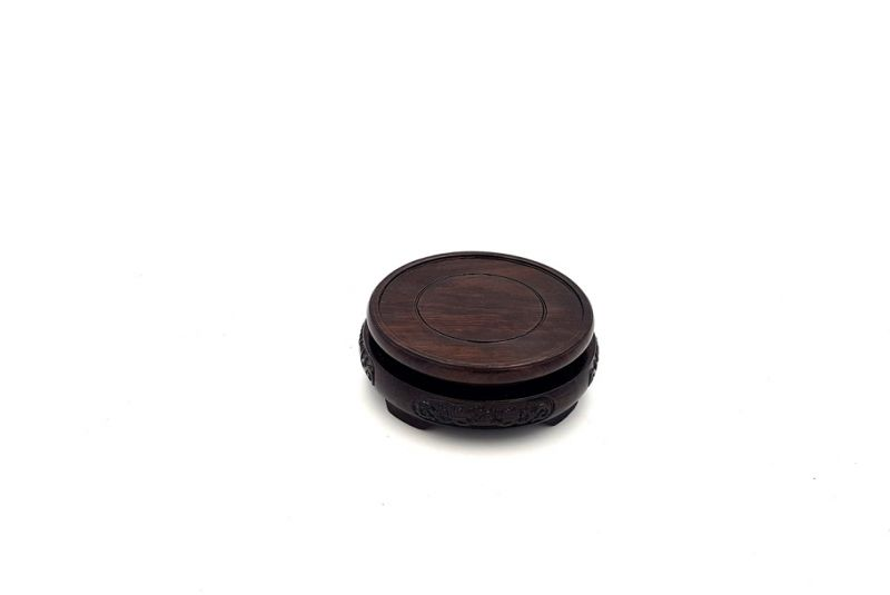 Support Chinois en Bois Rond 7,5cm 2