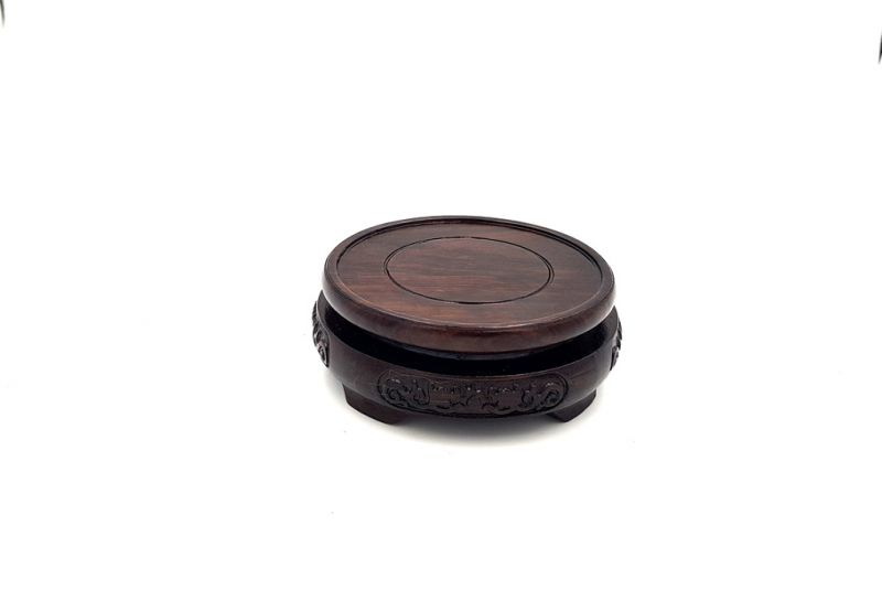 Support Chinois en Bois Rond 7,5cm 3